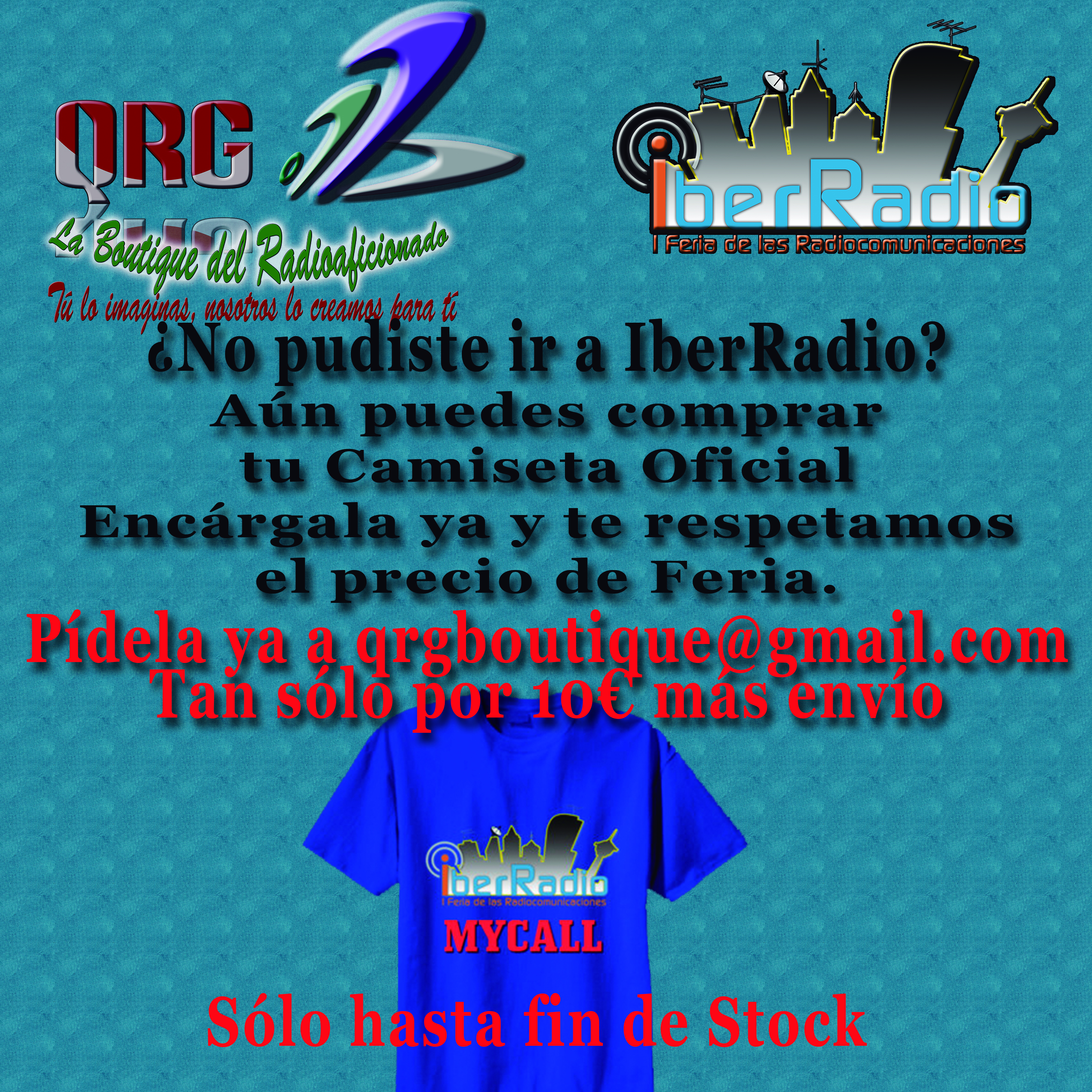 Fin Stock Camiseta IberRadio
