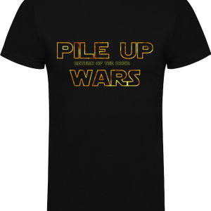 Camiseta Pile up Wars Return of the DXer