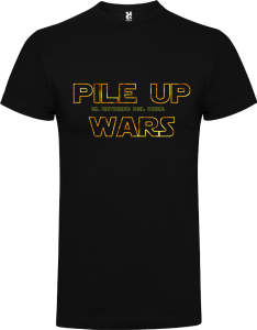 Camiseta Pile up Wars el retorno del DXer