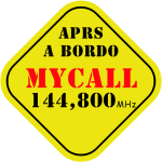 Plantilla 13x13 APRS a bordo Call 144800