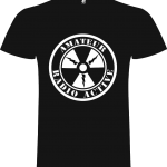 Camiseta Radioactive fotoluminescente blanco