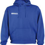 Sudadera capucha royal