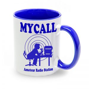 Taza azul Amateur Radio Station