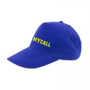 Gorra Royal bordado amarillo