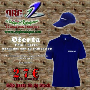 Oferta Polo + gorras bordados