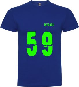 Camiseta 59 Royal vinilo verde